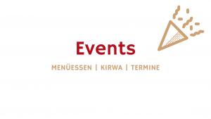 Events Menüessen Aktuelles Brauner Hirsch Waller