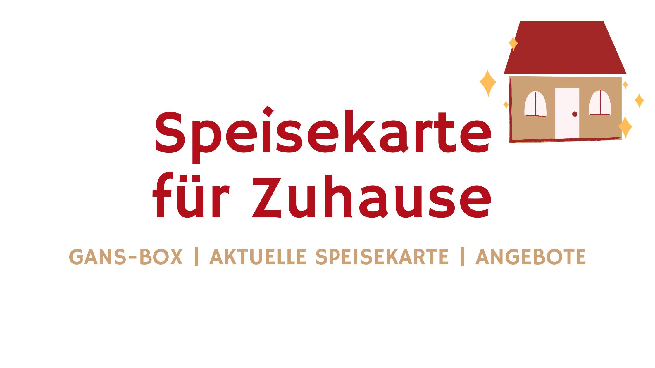 Speisekarte für Zuhause Aktuelles Brauner Hirsch Waller