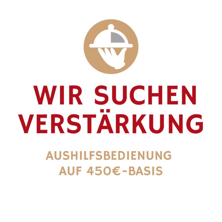 Wir suchen Verstärkung Gasthaus Brauner Hirsch Waller
