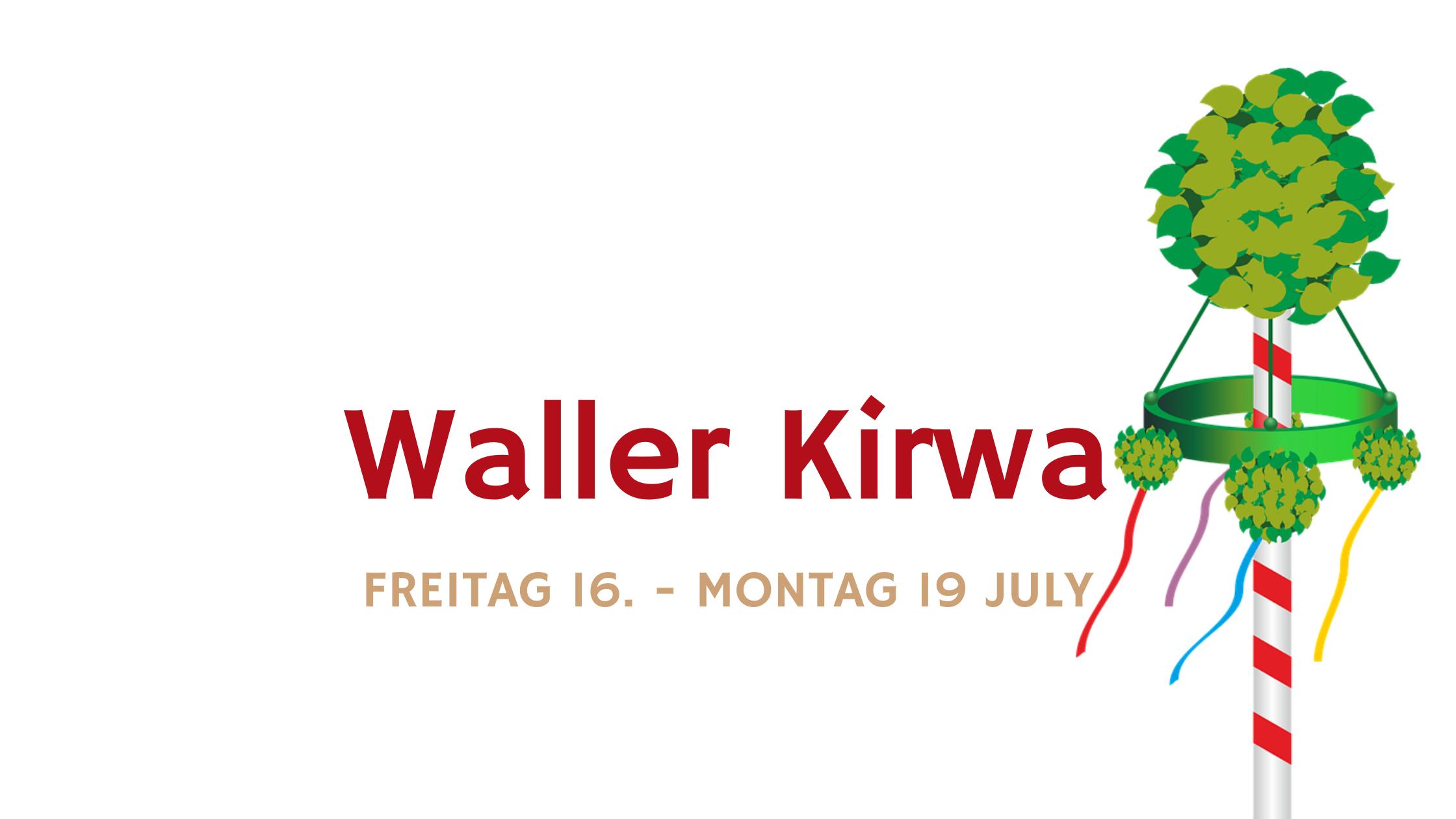 Waller Kirchweih 2021 Gasthaus Brauner Hirsch Waller