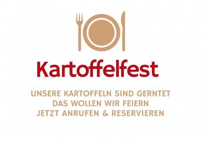 Kartoffelfest TItelbild Gasthaus Brauner Hirsch Waller